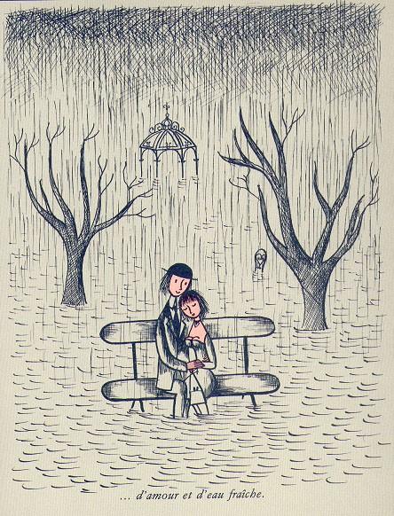 Sempe et peynet des rajouts lune et lin - Dessin sur l amour ...